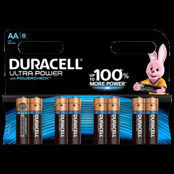 Duracell Ultra Aa Batteries 8s (MX1500B8ULTRA)